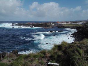 Terceira, Biscoitos - widok na zatokę