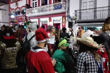 Big Carnival in small Terceira