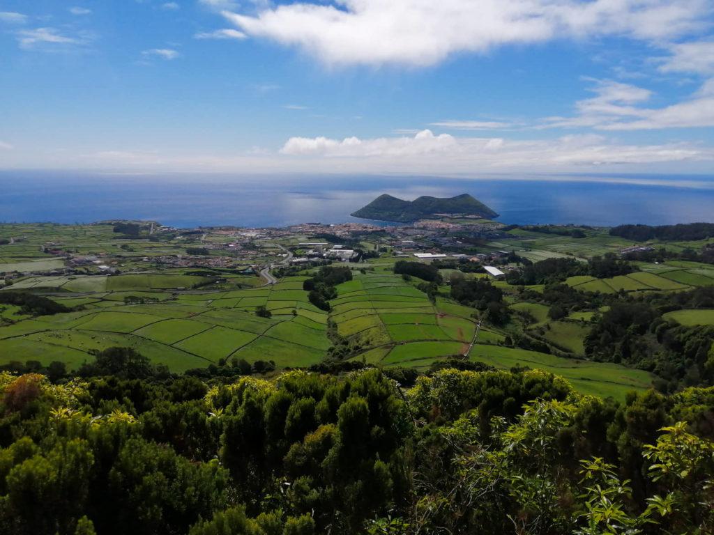 Azory, Azores, Terceira, Monte Brasil, Serra do Moriao, Serra do Morião, Angra, Angra do Heroísmo, Angra do Heroismo