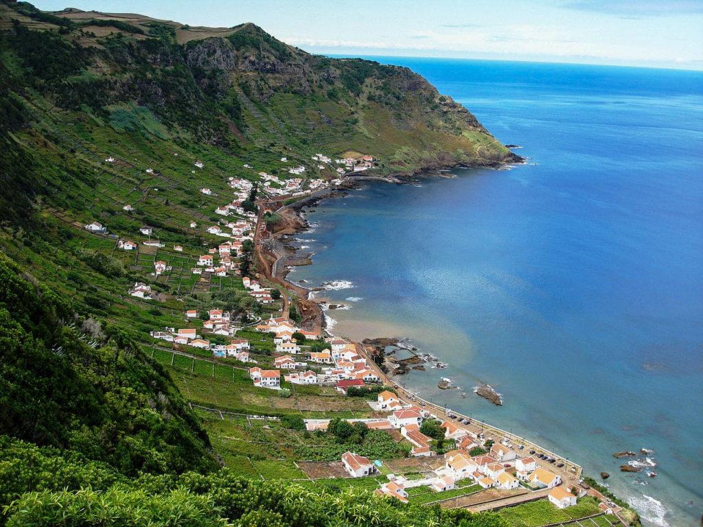 Azory, Azores, Santa Maria, praia