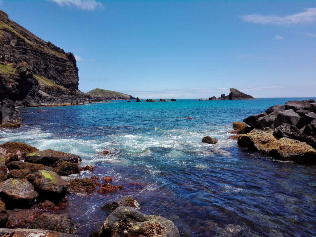 Azory, Azores, Graciosa, Carapacho, termy,