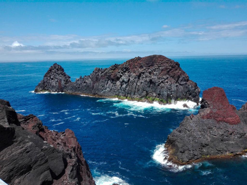 Azores, Azory, Graciosa, whale rock