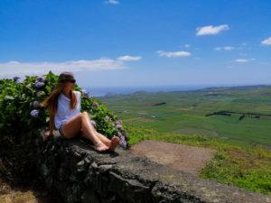 Terceira, Serra do Cume, Milena, miradouro, widok, punkt widokowy
