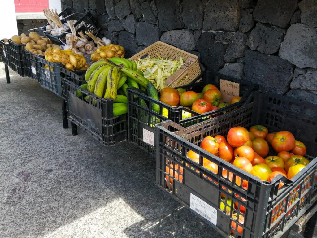 Andreia, Andreia Simas, Biscoitos, tasca, Calheta, sklep, budka, booth, owoce, warzywa, fruits, vegetables
